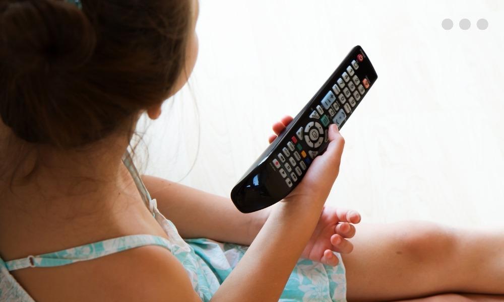 girl watching best tv