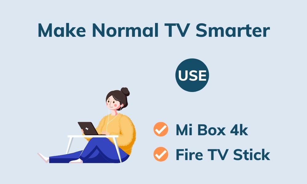 make normal tv smart